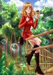 YCH Commission: Liz Shaw by heiseihi