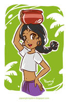Shanti by pangketepang