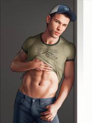 Ellis shirt lift. by AngelWings16