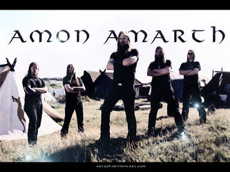 Amon Amarth by Artush