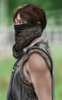 Daryl Dixon - Walking Dead 4 season by SilentBodomLake