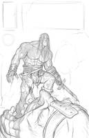 Radgnar the Giantkiller by angryrooster