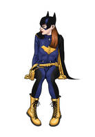 Batgirl by angryrooster