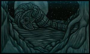 Sandworm Night by tekelili