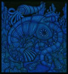 The Death of Trilobites by tekelili