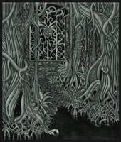 Bad Door by tekelili