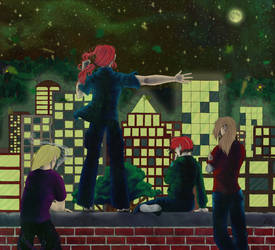 .:These City Lights:. by Blank-Muse