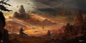 Desert Sylfria by FlorentLlamas