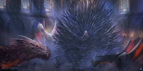 The Mother of dragons by FlorentLlamas