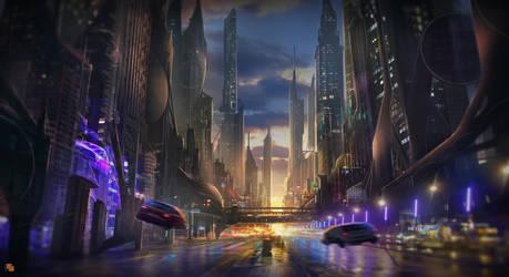 City ! by FlorentLlamas