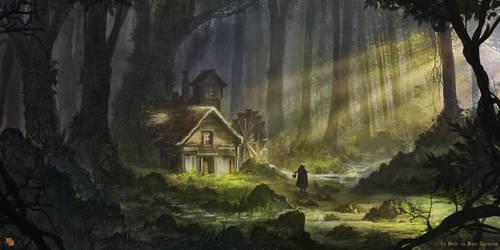 La Belle au bois dormant by FlorentLlamas