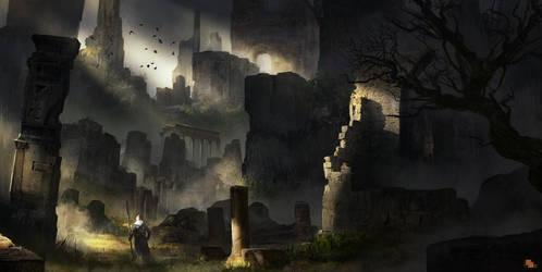 Ruins by FlorentLlamas