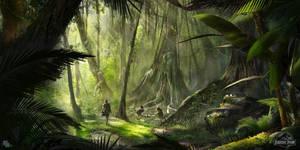 Jurassic-2 by FlorentLlamas