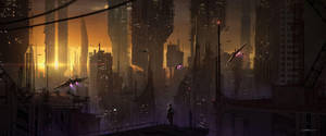 City by FlorentLlamas