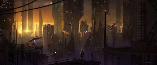 City by FlorentLlamas