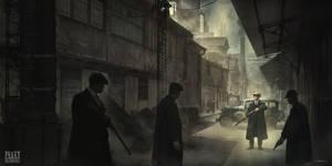 Peaky Blinders by FlorentLlamas