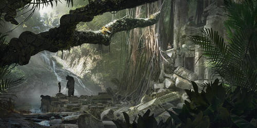 La Jungle by FlorentLlamas