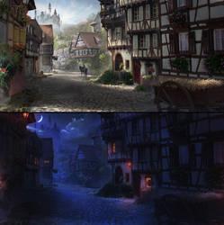 Village by FlorentLlamas