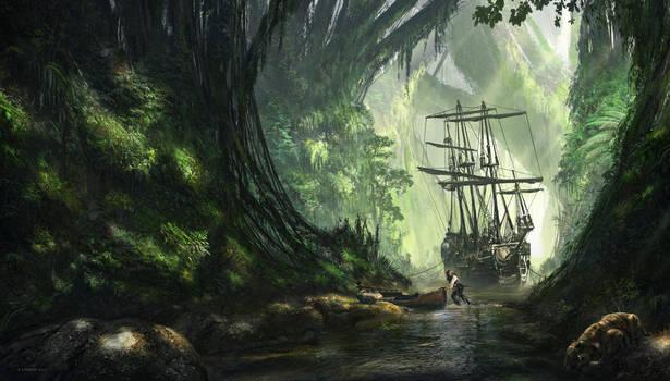 Un Pirate by FlorentLlamas