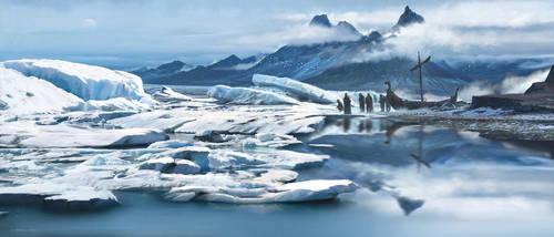 Glacier by FlorentLlamas