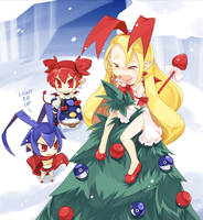 Disgaea: Christmas Angel by Suguri