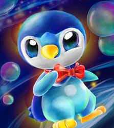 Bowtie - Piplup by Linda-98
