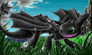Toothless by Linda-98