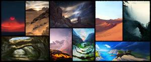 Landscapes by Lynayru