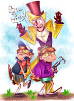Lovely puppets by handyhead