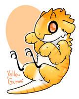 Yellow Gummi by LexisSketches