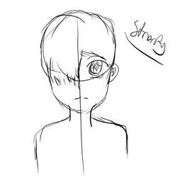 first drawing by strenty
