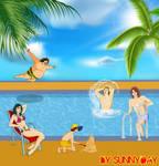 Gatchaman's Summer by sunnyday2000