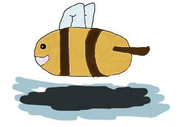 Bee drawing by Cute-Ruki