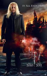 HP 7 Fan Poster: Lucius Malfoy by Cute-Ruki
