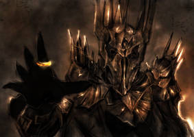 Sauron by geosis093