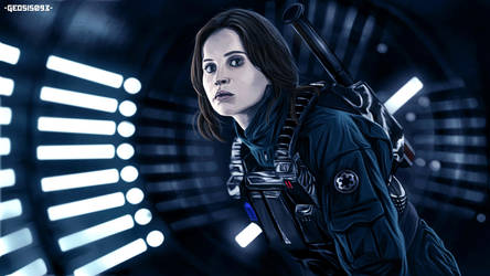 Jyn Erso! by geosis093