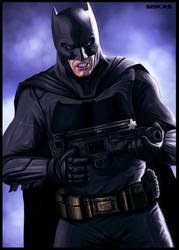 The Batman! by geosis093
