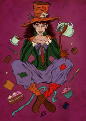 The Mad Hatter by saphir93
