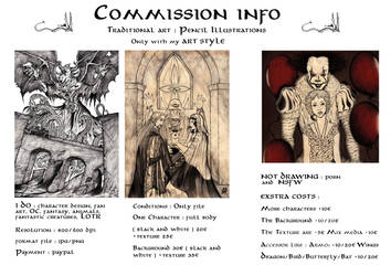 Commission Information and Prices by saphir93
