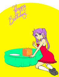 I made you a cake by atechnogoddess