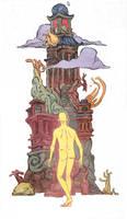MOEBIUS, PATRON SAINT OF THE STRANGE by JakeWyatt