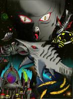 Zigra Vs Viras Alternate Cover by SaintNick14