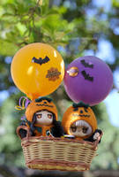 Trick or Treat in the air by kixkillradio