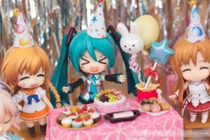 Miku's Party by kixkillradio