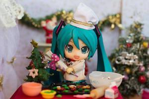 Miku Christmas by kixkillradio