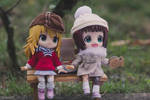 The iDOLM@STER Miki and Haruka by kixkillradio