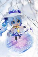 Magical Snow Miku by kixkillradio