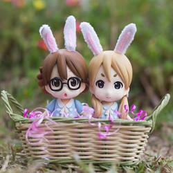 Easter Bunnies by kixkillradio