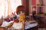 Goodnight Mako-chan by kixkillradio