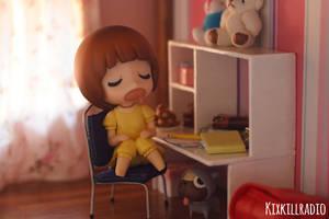 Mako Fell Asleep by kixkillradio